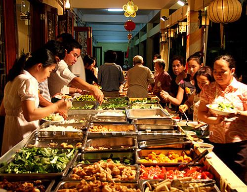 kinh doanh quán ăn buffet