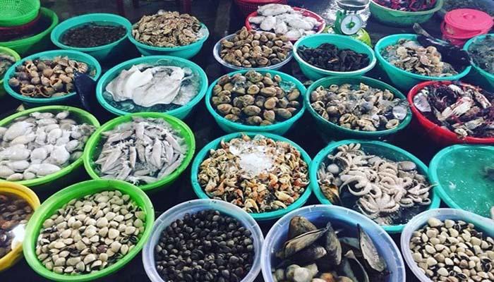 nguyên liệu chế biến hải sản